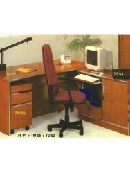Jual Meja Kantor Aditech TE 01 - Tanpa laci Murah Di Surabaya