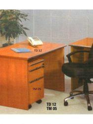 Jual Meja Kantor tanpa laci Aditech TD 12 Murah Di Surabaya