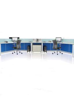 Partisi kantor Donati WS 6 Seat