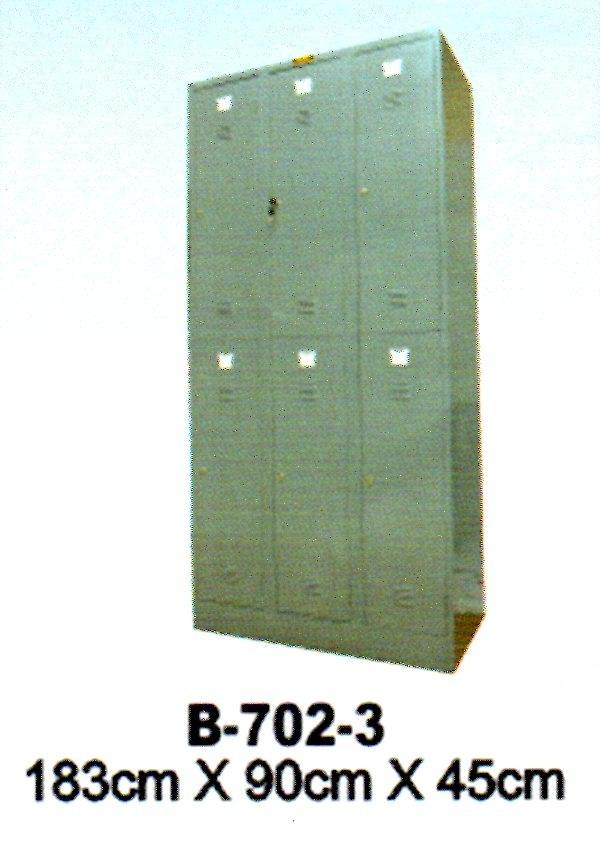 Jual Locker Brother Type B-702-3 Murah Di Surabaya