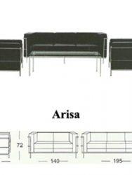 Jual Sofa Kantor Subaru Arisa 3 Murah Di Surabaya