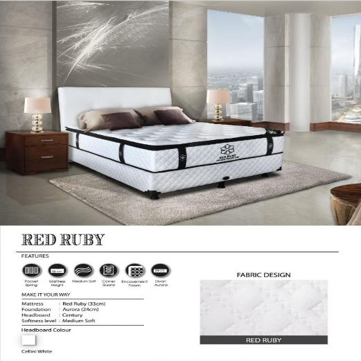 Jual Springbed Central RED RUBY Murah Surabaya
